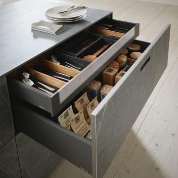Laden-Innenausstattung und Ordnungssystem für Küchen